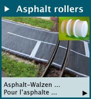 Asphalt rollers