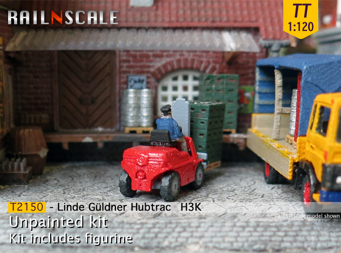 linde g ldner hubtrac h3k railnscale. Black Bedroom Furniture Sets. Home Design Ideas
