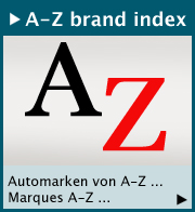 A to Z brand index